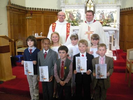 First Holy Communion group photo